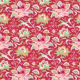 Tissu tilda 1m x 110 cm circus rose red - 26