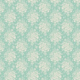 Tissu tilda 110 cm x 5 m summer picnic teal - 26