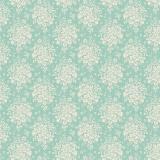 Tissu tilda 1m x 110 cm summer picnic teal - 26