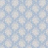 Tissu tilda 110 cm x 5 m summer picnic blue - 26