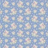 Tissu tilda 1m x 110 cm first kiss blue - 26
