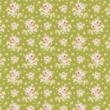 Tissu tilda 1m x 110 cm first kiss green - 26