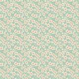 Tissu 50x55 cm cherry blossom teal - 26