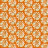 Tissu 50x55 cm flower nest ginger - 26