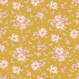 Tissu 50x55 cm rosa mollis golden - 26