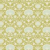 Tissu 50x55 cm garden bees green  - 26