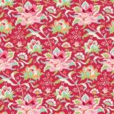 Tissu tilda 50x55 cm circus rose red - 26