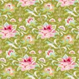 Tissu tilda 50x55 cm circus rose green - 26