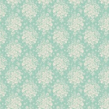 Tissu tilda 50x55 cm summer picnic teal - 26