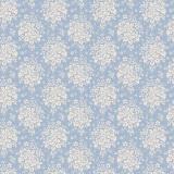 Tissu tilda 50x55 cm summer picnic blue - 26
