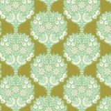 Tissu tilda 5m x 110 cm flower tree green - 26
