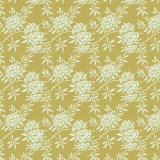 Tissu tilda 5m x 110 cm flower bush green - 26
