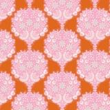Tissu tilda 1m x 110cm flower tree gingers - 26