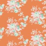 Tissu tilda 5m x 110 cm autumn rose ginger - 26