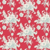 Tissu tilda (1m) 110 cm botanical red (cottage) - 26