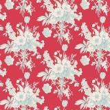 Tissu tilda 1m x 110cm botanical red (cottage) - 26