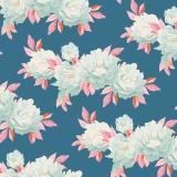 Tissu tilda 5m x 110 cm minerva blue (cottage) - 26