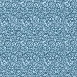 Tissu tilda (1m) 110 cm sigrid blue (cottage) - 26
