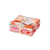 Ballotin 5 coupons 50x55cm tilda ginger pink - 26