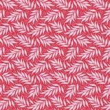 Tissu tilda 50x55 berry leaf red (cottage) - 26