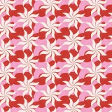 Tissu tilda 50x55 fireworks red (cottage) - 26