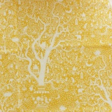 Tissu tilda 1mx110 cm lemontree yellow - 26