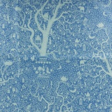 Tissu tilda 1mx110 cm lemontree blue - 26