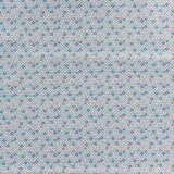 Tissu tilda 5mx110 cm lemontree flowerfield blue - 26