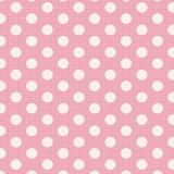 Tissu tilda 1mx110 cm rose pois moyens - 26