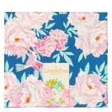 Tissu tilda 50x55 cm lemontree hummingbird blue - 26