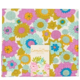 Tissu tilda 50x55 cm lemontree boogie flower dove - 26