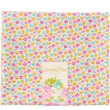 Tissu tilda 50x55 cm lemontree flowerfield yellow - 26