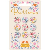 Bouton tilda lemontree 15 mm - 26