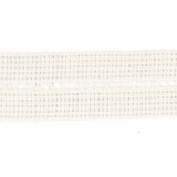 Tresse pre-pliee 3cm blanc