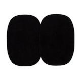 Coude 1 paire imitation daim gm noir