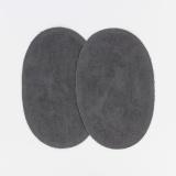 Coude 1 paire imitation daim pm gris f