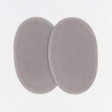 Coude 1 paire imitation daim pm gris