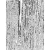 Coupon aïda 30x40 bois brut gris  - 282