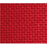 Toile coton étamine mercerisée rouge 150 - 282