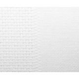 Toile damier 8/8cm aïda 7 / aïda 14 blanc 150 - 282