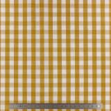 Tissu vichy popeline coton 10/10mm safran