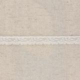 Bande rachel blanche 1,3 cm