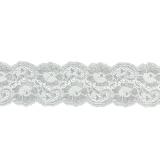 Bande rachel lycra blanc 5 cm