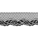 Dentelle noir 5,5cm largeur