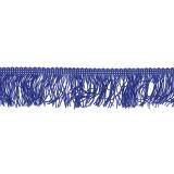 Galon frange 5cm bleu roy - 292
