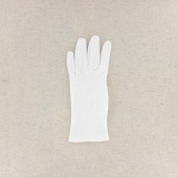 Gant 100%coton blanc t.5,5