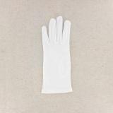Gant 100%coton blanc t.6