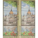 Canevas hungarian parliament 19/49cm planche de 2 - 32