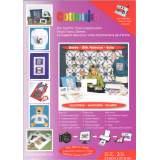 Support tissu soie pour imprimante x3 feuilles - 320