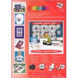 Support tissu toile pour imprimante x3 feuilles - 320